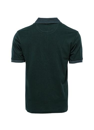 Wessi Erkek Slim Fit Polo Yaka Oxford Tişört Yeşil